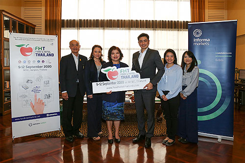 Thai Hotels Association gives exclusive support to Food & Hotel Thailand 2020, Food & Hotel Thailand